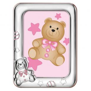 Фоторамка детская для девочки Медвежонок фото