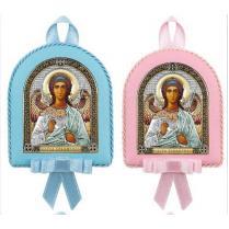 Икона детская Ангел Хранитель цвет