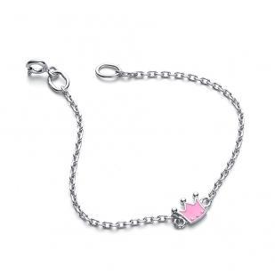 Детский серебряный браслет Принцесса