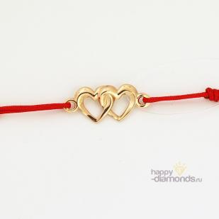 Красная нить 2 сердца фото