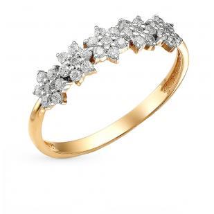 Золотое кольцо Цветочное сияние фото