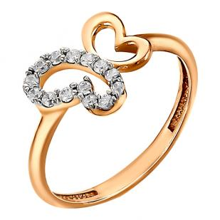 Золотое кольцо Бабочка фото