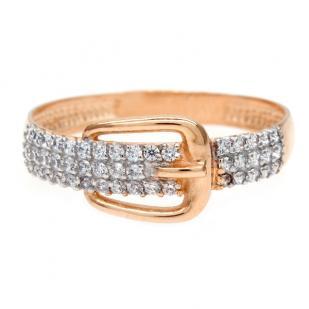 Золотое кольцо пряжка фото