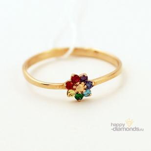 Золотое кольцо Цветик семицветик