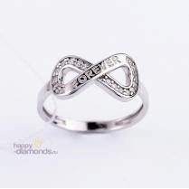Кольцо Style серебро