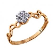 Золотое кольцо Цветочное сияние
