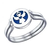 Серебряное кольцо Ангелок 94011828