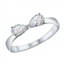 Серебряное кольцо 94011857