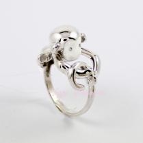 Серебряное кольцо Мартышка 94011768