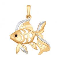 "Кулон ""Золотая рыбка"""