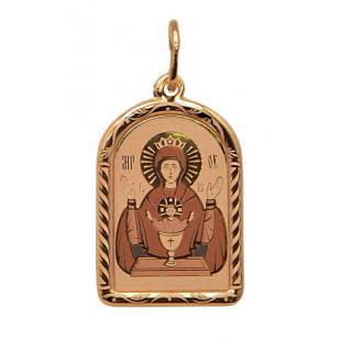 Золотая икона Неупиваемая Чаша БМ