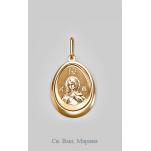 Золотая иконка Марина Св