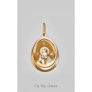 Золотая иконка Ольга Св