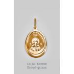 Золотая иконка Ксения Петербургская