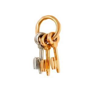 """Золотая подвеска """"Ключи"""" фото"""