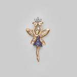 Золотая подвеска волшебная фея