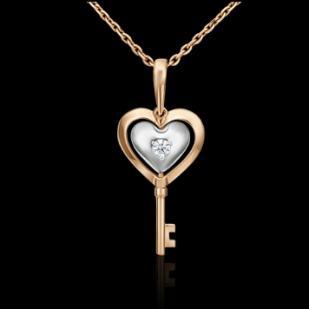 Золотой ключик сердце  фото