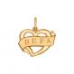 """Золотая подвеска с именем """"Вера"""""""