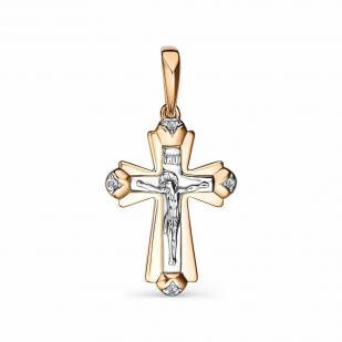 Православный крест из золота 34022-100 фото