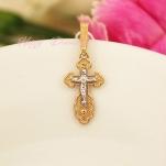 Золотой нательный крест 10047