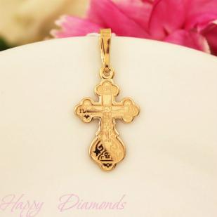 Золотой нательный крест 10207