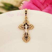 Золотой нательный крест 10300