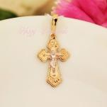 Золотой нательный крест 12623
