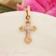Золотой детский крест 12710