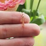 Золотой крестик для младенца