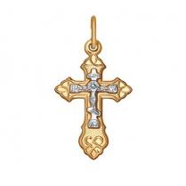 Золотой крестик 120119