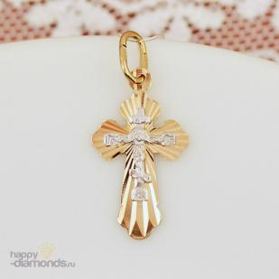 Золотой крестик 121209