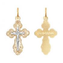 Золотой крестик 121141