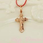 Маленький золотой крестик