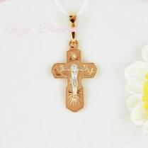 Маленький детский золотой крестик