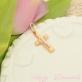 Крест золотой для ребенка