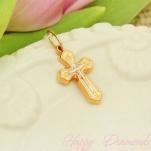 Православный золотой крест