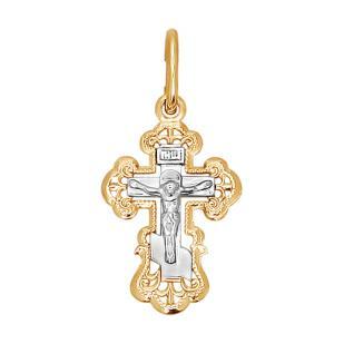 Ажурный крестик для малыша