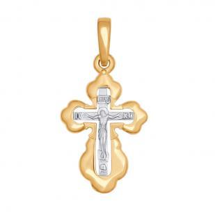 Золотой крестик для детей