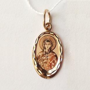 Нательный образок Святая Валерия фото