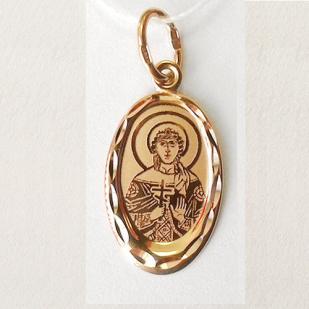 Нательный образок Святая Варвара фото