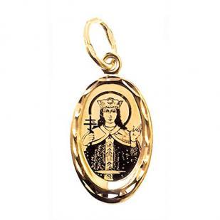 Нательный образок Святая Ирина фото
