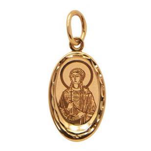 Нательный образок Святая Кристина