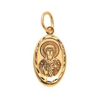 Нательный образок Святая Мария