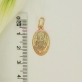 Серебряный образок с позолотой св. Валентина