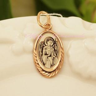 Серебряная подвеска Ангел Хранитель фото