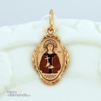 Золотая иконка Святая Ирина