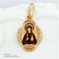 Золотая иконка Ольга Св.