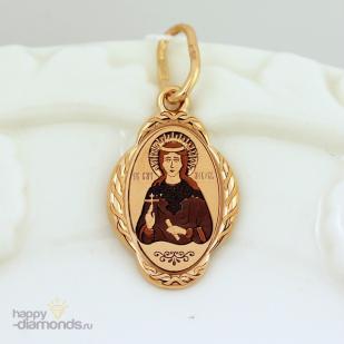 Золотая иконка Святая Любовь