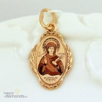 Золотая иконка Татьяна Св.