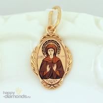 Золотая иконка Ангелина Св.
